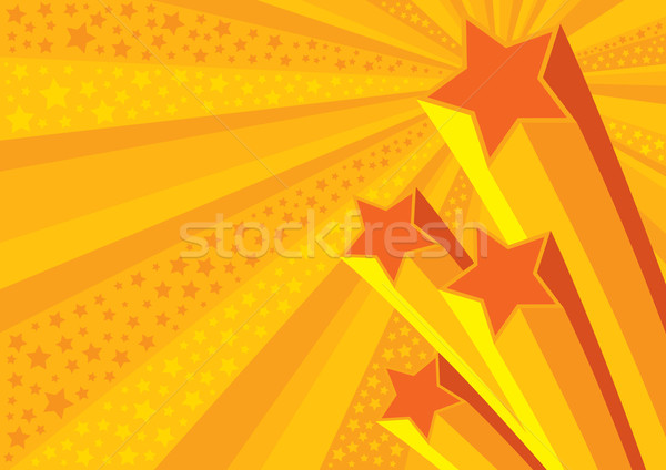 Stars Background (vector) Stock photo © UPimages