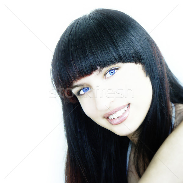 Stock photo: Blue Eyed Beauty