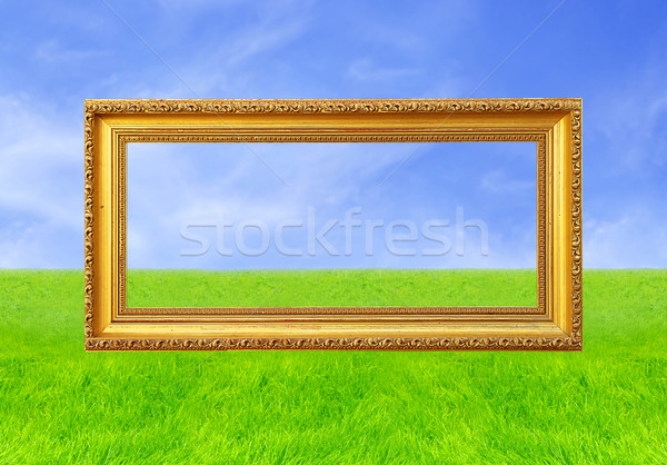Stock photo: Frame Of Fame