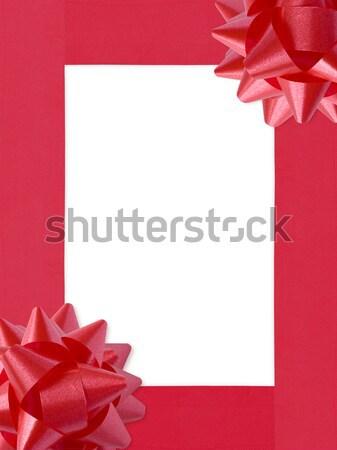 Gift Bows Frame (illustration) Stock photo © UPimages