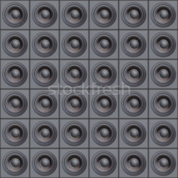 Stock photo: Loud Speakers