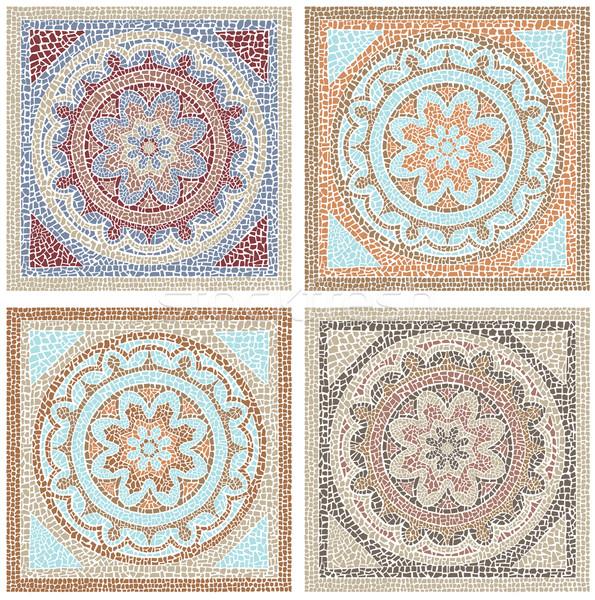 Antique mosaic Stock photo © UrchenkoJulia