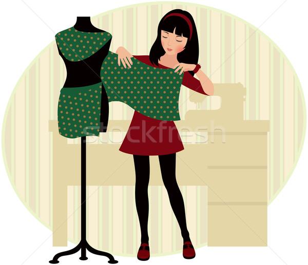 Dressmaker Stock photo © UrchenkoJulia