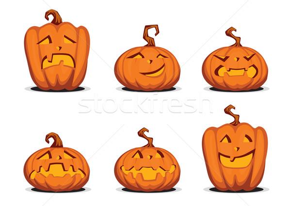 Helloween pumpkin Stock photo © UrchenkoJulia
