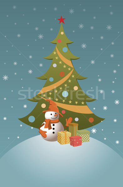 Holiday Christmas Card Stock photo © UrchenkoJulia