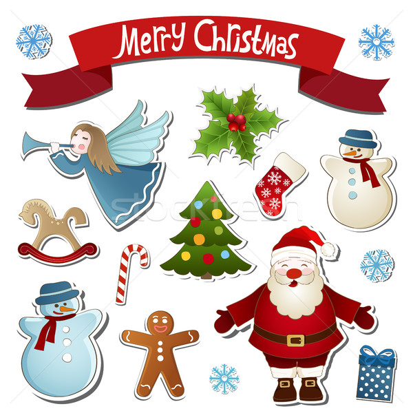 Christmas collection Stock photo © user_10003441