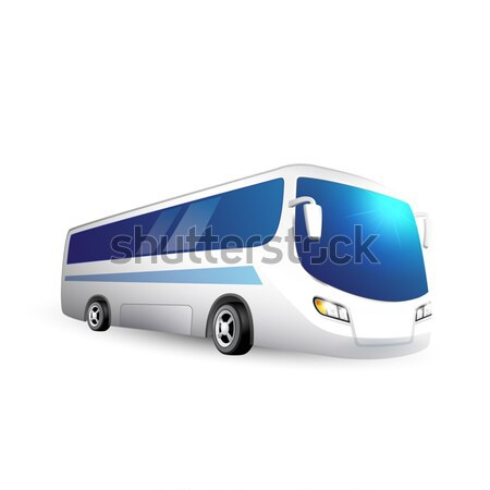 Illustration of a bus Stock photo © user_10003441