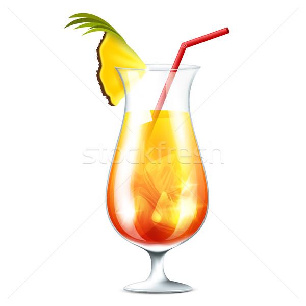 Orange cocktail Stock photo © user_10003441