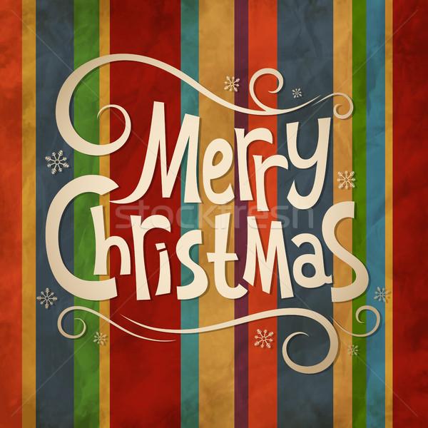 クリスマス 古い ヴィンテージ テクスチャ 冬 休日 ストックフォト © user_10003441