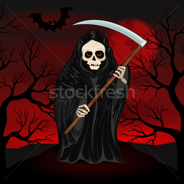 Grim Reaper for Halloween Stock photo © user_10003441