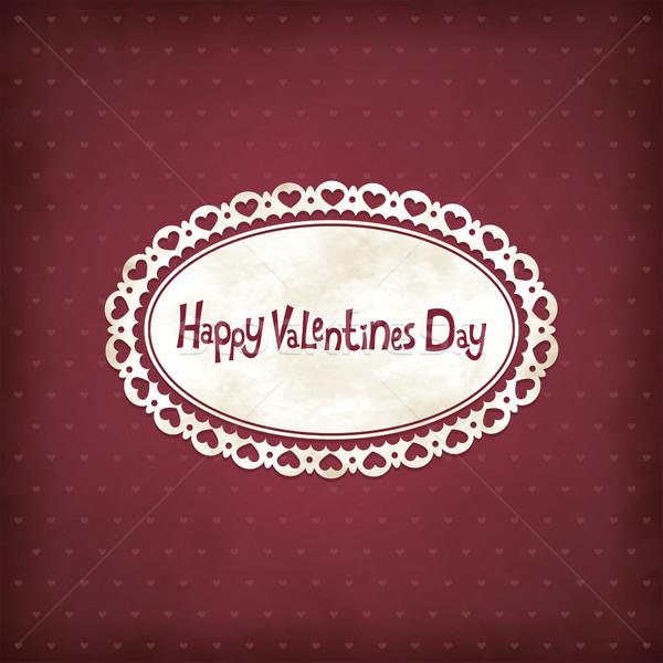 Vintage Valentines day Stock photo © user_10003441