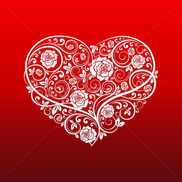 Beautiful heart Stock photo © user_10003441