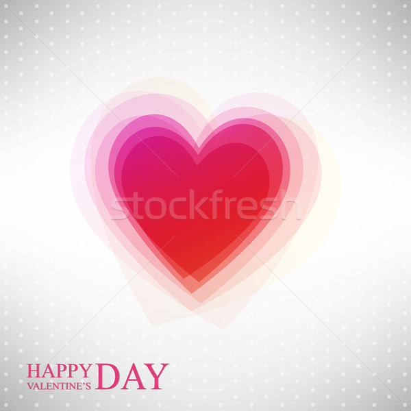 Abstract heart by Valentine's Day Stock photo © user_10003441