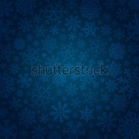 青 雪 美しい ベクトル テクスチャ 背景 ストックフォト © user_10003441