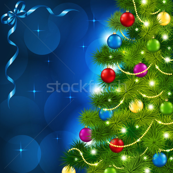 Christmas tree Stock photo © user_10003441