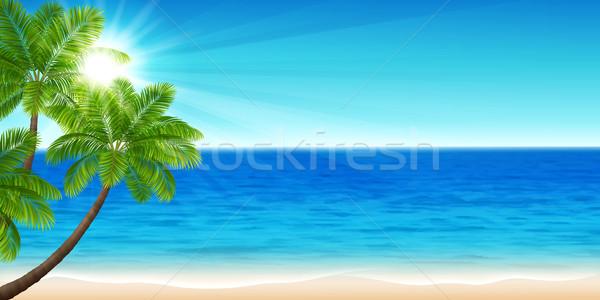 Summer sea Stock photo © user_10003441