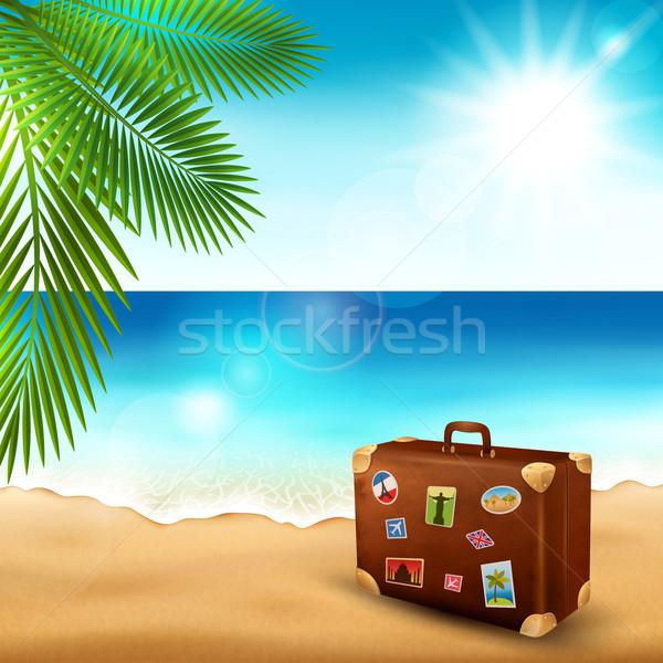 Tropical beach Stock photo © user_10003441