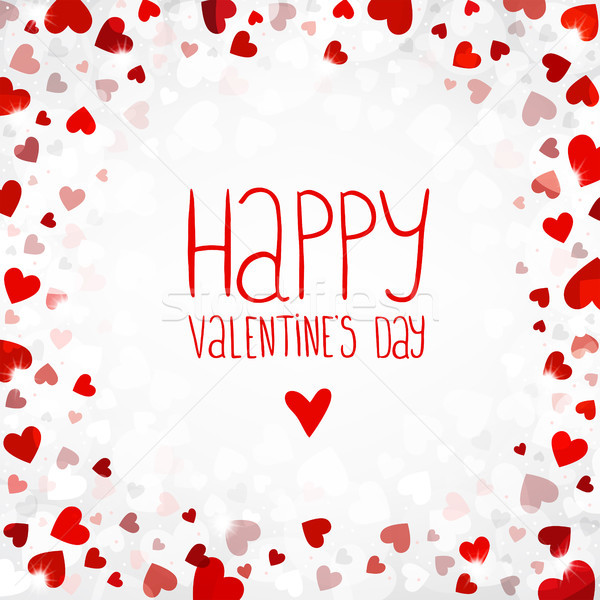 Vector bright background for Valentines day Stock photo © user_10003441