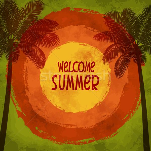 Sun background Stock photo © user_10003441