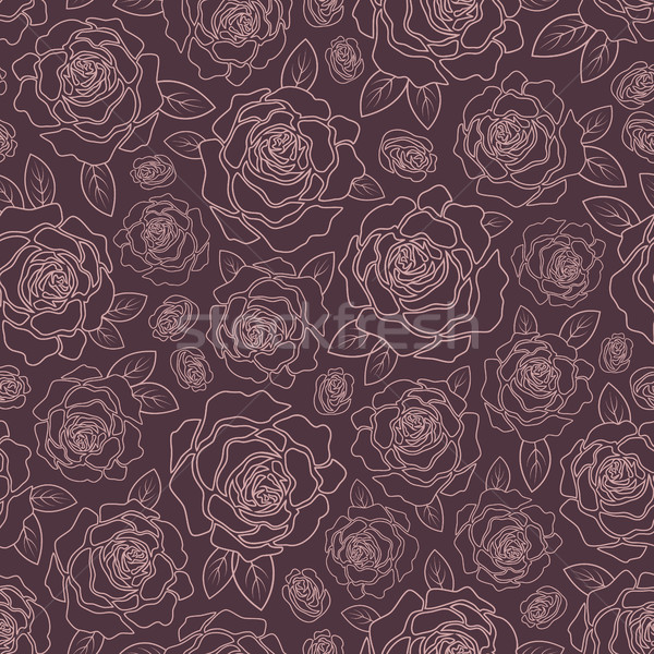 Background of roses Stock photo © user_10003441