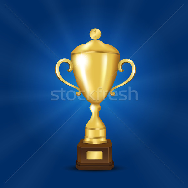 Golden cup Stock photo © user_10003441