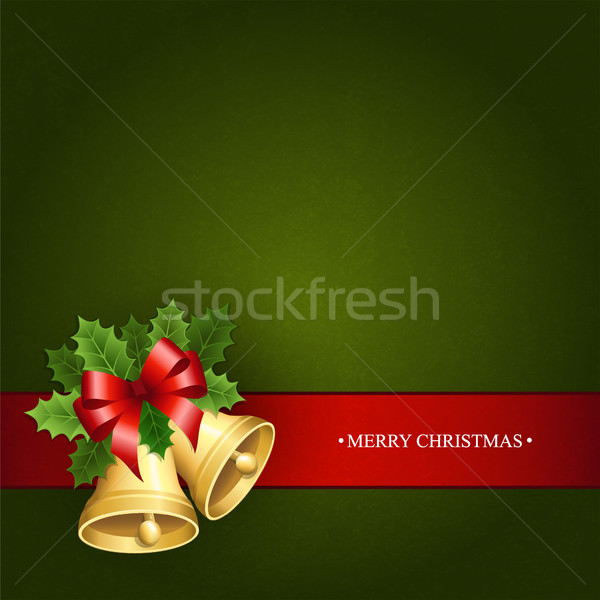 Background with the Christmas bells Stock photo © user_10003441