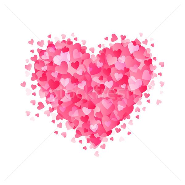 Heart isolated Stock photo © user_10003441