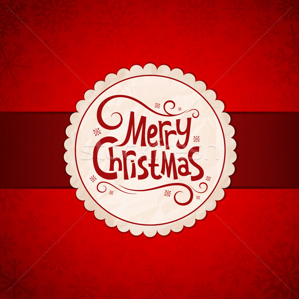 Card for Christmas Stock photo © user_10003441