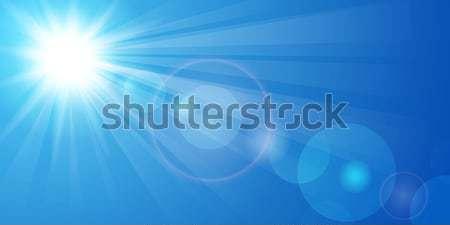 Blue sky Stock photo © user_10003441