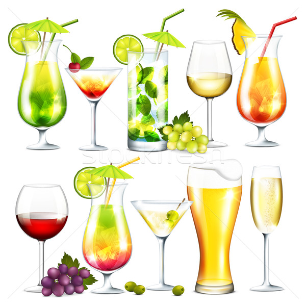 Alcohol drinks Stock photo © user_10003441