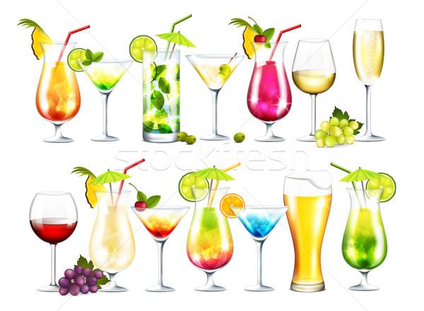 Drinks Stock photo © user_10003441