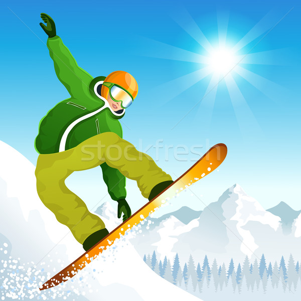 Winter sport Stock photo © user_10003441