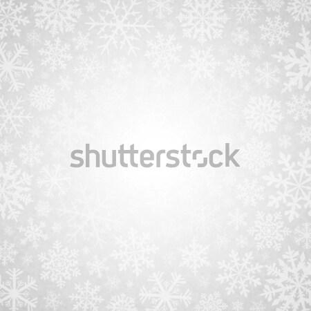 Winter white background Stock photo © user_10003441