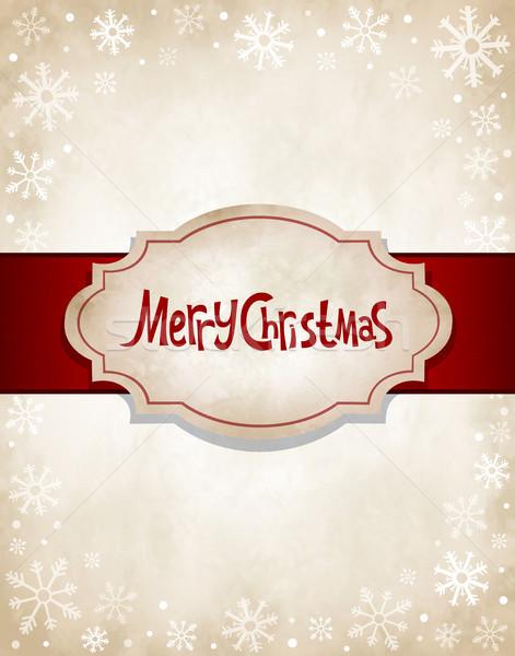 Vintage Christmas Stock photo © user_10003441
