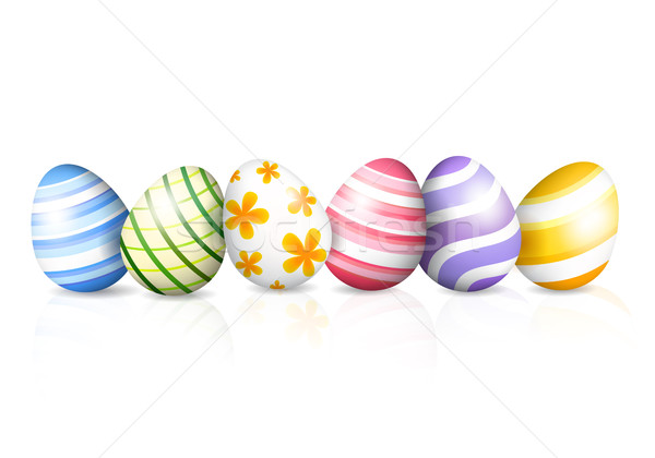 Colored eggs for Easter Stock photo © user_10003441