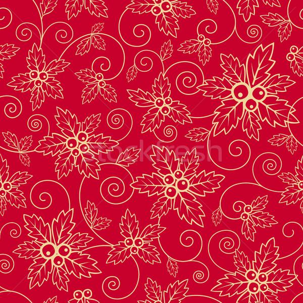 Christmas pattern Stock photo © user_10003441