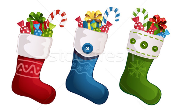 Christmas stockings Stock photo © user_10003441