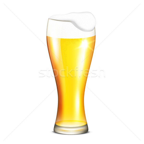 Glass of beer Stock photo © user_10003441