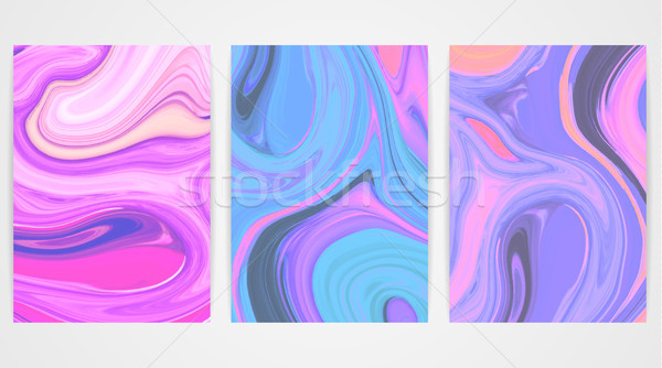Horizons marbre texture lumineuses peinture Splash Photo stock © user_10144511