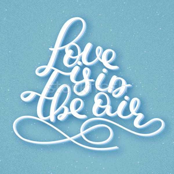 愛 空気 ロマンチックな 引用 幸せ ストックフォト © user_10144511