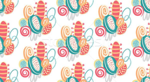 Vetor abstrato formas Foto stock © user_10144511