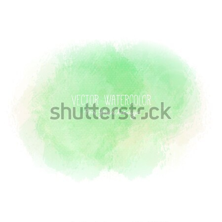 Bright stain. Pseudo watercolor. Paint texture. Colorful daub. It can be used as background for text Stock photo © user_10144511