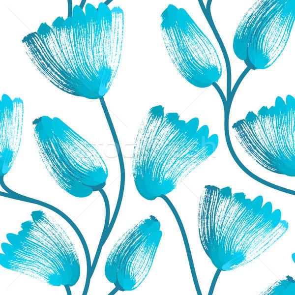 Creatieve bloemen artistiek Stockfoto © user_10144511