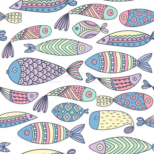 Mundo colorido artístico Foto stock © user_10144511