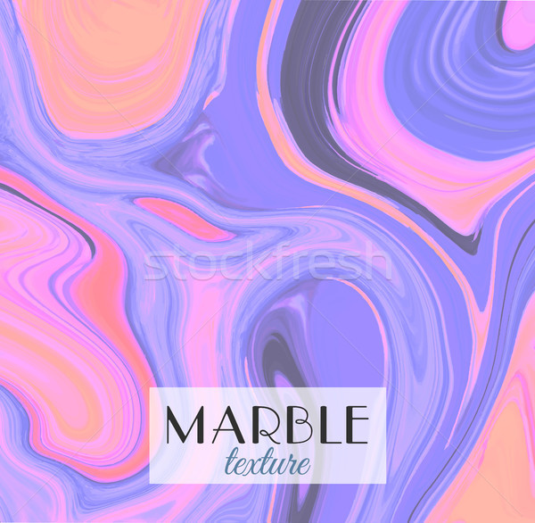 Marbling. Marble texture. Artistic abstract colorful background. Splash of paint. Colorful fluid. Br Stock photo © user_10144511