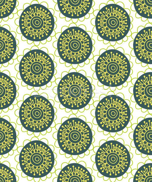 ストックフォト: フローラル · 手描き · 創造 · 花