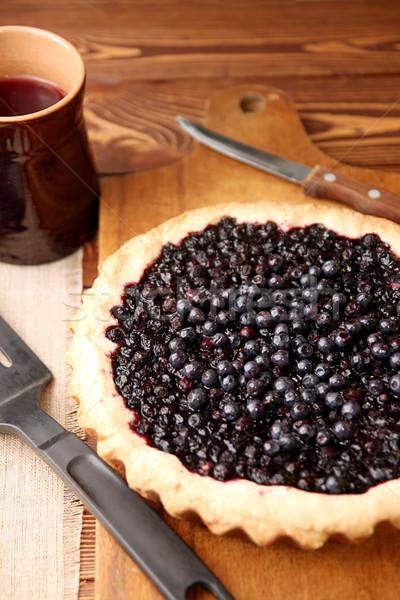 Bilberry cake Stock photo © user_11056481