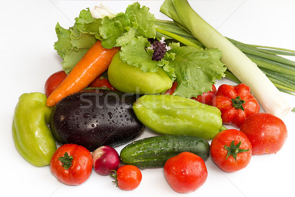 Collection vegetables Stock photo © user_11056481