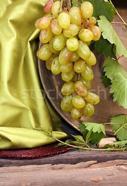 ブドウ クラスタ 甘い おいしい オーガニック ストックフォト © user_11056481