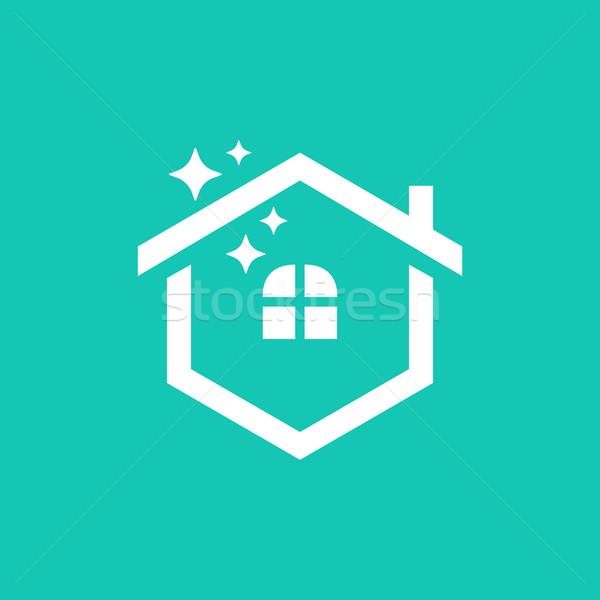 Home Hexagonal Symbol. Creative Design Stock photo © user_11138126